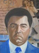 Heavyweight Paintings - Ali by Nigel Wynter