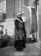 Fur Coat Prints - Alice Paul (1885-1977) Print by Granger