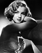 1950 Movies Framed Prints - All About Eve, Marilyn Monroe, 1950 Framed Print by Everett
