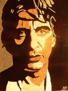 Portraits Reliefs Prints - All Pacino Print by Kovats Daniela