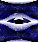 Eyes Framed Prints - All Seeing Eye Framed Print by Christopher Gaston