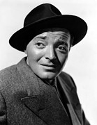 Wide Brim Hat Posters - All Through The Night, Peter Lorre, 1942 Poster by Everett