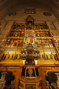 Blessed Mother Photos - Almudena Cathedral by John Greim