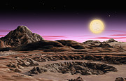 Extrasolar Planet Prints - Alpha Centauri System Print by Lynette Cook