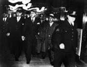 Escort Photos - Alphonse Capone (1899-1947) by Granger