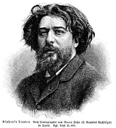 Alphonse Photos - Alphonse Daudet (1840-1897) by Granger