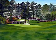 Number 12 Prints - Amen Corner Print by Jerry Walker