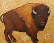 Plains Originals - American Bison by Carol Suzanne Niebuhr