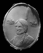 Landmarks Reliefs Originals - American Indian by Suhas Tavkar