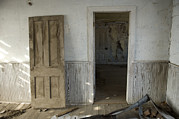 Old Door Photos - An Abandoned Farm Near Otoe, Nebraska by Joel Sartore