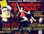 Leslie Posters - An American In Paris, Gene Kelly Poster by Everett