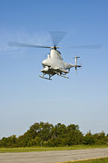 Vertical Flight Prints - An Mq-8b Fire Scout Unmanned Aerial Print by Stocktrek Images