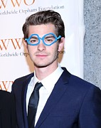 Cipriani Restaurant Wall Street Metal Prints - Andrew Garfield At Arrivals For The Metal Print by Everett