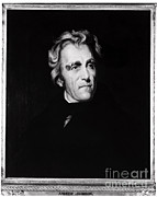Owner Metal Prints - Andrew Jackson, 7th American President Metal Print by Photo Researchers