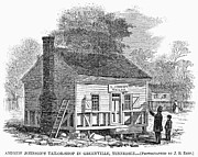 Andrew Johnson: Tailor Print by Granger