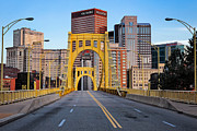 Pittsburgh Framed Prints - Andy Warhol Bridge  Framed Print by Emmanuel Panagiotakis