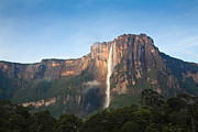 Angel Falls Posters - Angel Falls Poster by Jane Sweeney