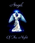 Jesus Images Digital Art - Angel of the Night by Garry Staranchuk