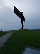 Angel Of The North Print by Roberto Edmanson-Harrison