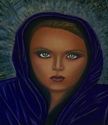 African-american Pastels - Angel of Truth by D Rogale