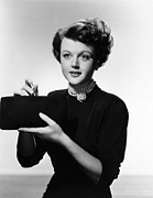 Lansbury Framed Prints - Angela Lansbury, 1950 Framed Print by Everett