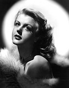 Bare Shoulder Framed Prints - Angela Lansbury, 1950s Framed Print by Everett