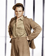 Prisoner Posters - Angels With Dirty Faces,  James Cagney Poster by Everett