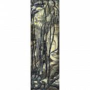 Featured Tapestries - Textiles Originals - Angkor by Petra Voegtle