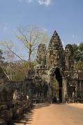 Angkor Thom Prints - Angkor Thom Print by Gloria & Richard Maschmeyer