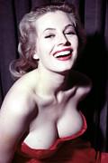 Anita Ekberg, Circa Late 1950s Print by Everett