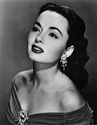 Diamond Earrings Posters - Ann Blyth, Ca. 1950s Poster by Everett