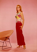 Floor-length Dress Framed Prints - Ann-margret, 1960s Framed Print by Everett