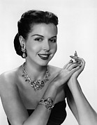 Bracelet Framed Prints - Ann Miller, Ca. Late 1940s Framed Print by Everett