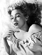 Bare Shoulder Framed Prints - Ann Sothern, Portrait Promoting Framed Print by Everett