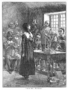 Reformer Metal Prints - Anne Hutchinson (1591-1643) Metal Print by Granger