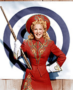 White Gloves Photo Prints - Annie Get Your Gun, Betty Hutton, 1950 Print by Everett