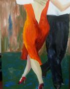 Keith Thue Art - Another Tango Twirl by Keith Thue