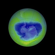Monitoring Posters - Antarctic Ozone Hole, 2010 Poster by Nasa