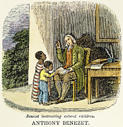Abolition Prints - Anthony Benezet (1713-1784) Print by Granger