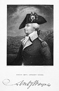 Lapel Framed Prints - Anthony Wayne (1745-1796) Framed Print by Granger