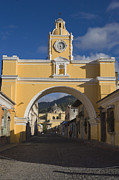 Diminishing Perspective Framed Prints - Antigua Old Town, Guatemala Framed Print by Michele Falzone