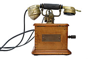 Communication Photos - Antique Marty 1910 telephone by Sami Sarkis