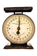 Measuring Posters - Antique Scale Poster by Olivier Le Queinec