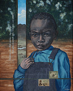 Aids Paintings - Apostle of Hope by Dee Youmans-Miller