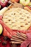 Anise Posters - Apple Pie Poster by Stephanie Frey