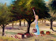 Portfolio Paintings - Apple Season by John  Williams