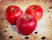 Trio Prints - Apples Print by Darren Fisher