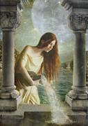 Marie Gale Art - Aquarius by Marie  Gale