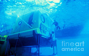 Aquarius Prints - Aquarius Underwater Ocean Laboratory Print by Science Source