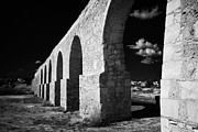 Spans Prints - Arches Of The Kamares Aqueduct Larnaca Republic Of Cyprus Europe Print by Joe Fox